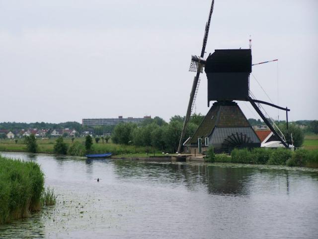 Mlýny v přírodním skanzenu u Kinderdijku III