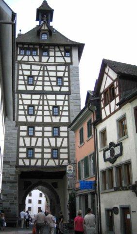 Husův dům a městská brána