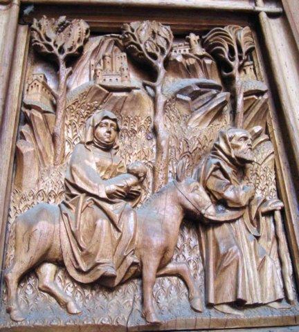 Münster - detail vstupních dveří